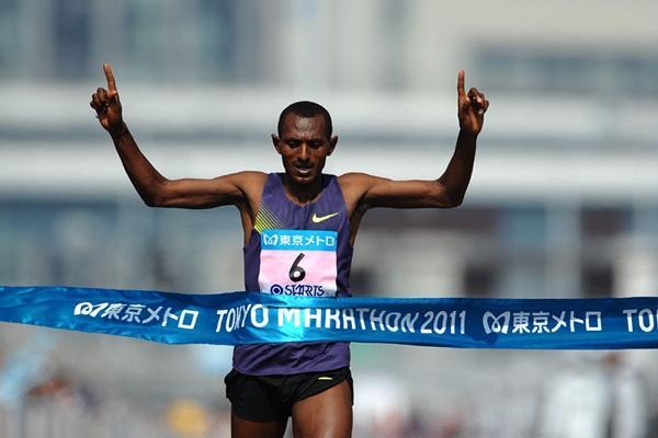Hailu Mekonnen triumphs at the Tokyo Marathon (Agence SHOT)