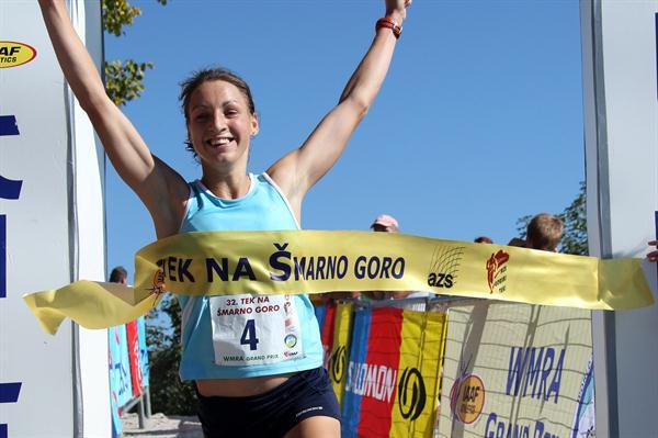 Defending home turf, Lucija Krkoc prevails on Smarna Gora (A. Fevzer)