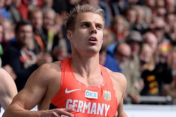 German sprinter Julian Reus (Getty Images)