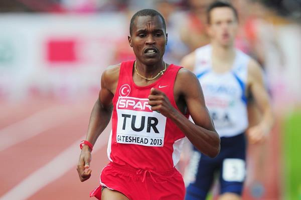 Turkey's Ilham Tanui Ozbilen in the 1500m at the 2013 European Team Championships (Getty Images)