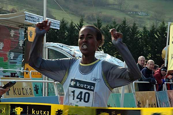 Workitu Ayanu wins in Elgoibar (Arkaitz Ortega)