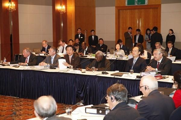 IAAF Council Meeting in Daegu (Daegu 2011 LOC)