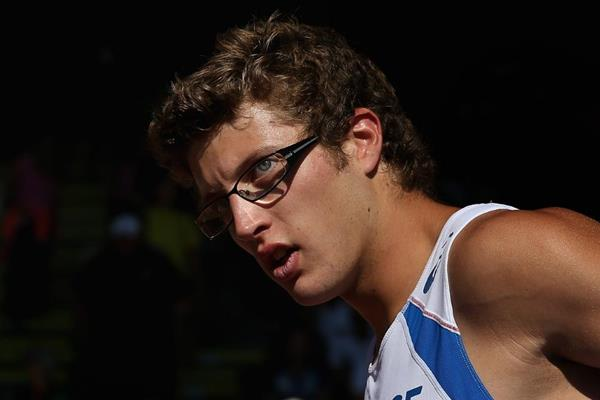 Pole vault winner Axel Chapelle at the IAAF World Junior Championships, Oregon 2014 (Getty Images)
