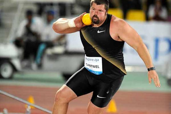 Christian Cantwell kicks off his Diamond League campaign with victory in Doha (Jiro Mochizuki)