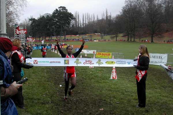 2003 Iris Crosscup winner: Burka Geleta, 17, Ethiopia (Heerinckx)