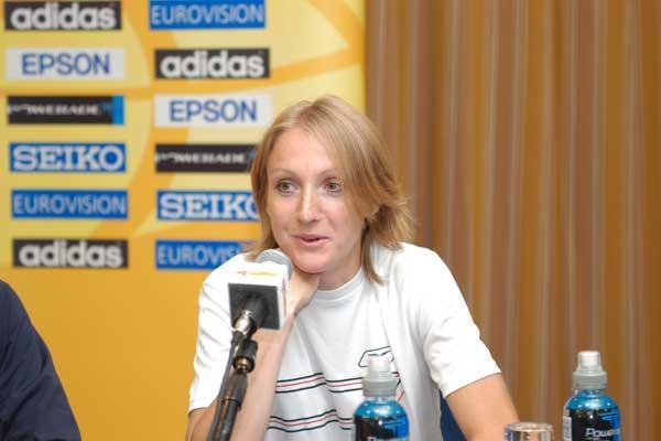 Paula Radcliffe in Vilamoura (IAAF)