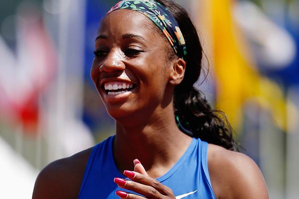 US sprint hurdler Keni Harrison (Getty Images)