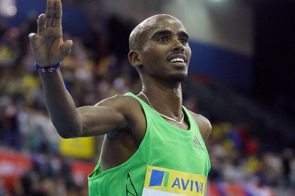 Mo Farah in Birmingham (Getty Images)