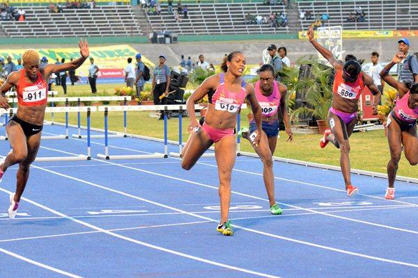 Brigitte Foster-Hylton takes another national title in Kingston (Anthony Foster)