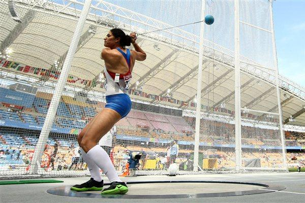 Tatyana Lysenko of Russia - an automatic qualifier in the women's Hammer Throw (Getty Images)