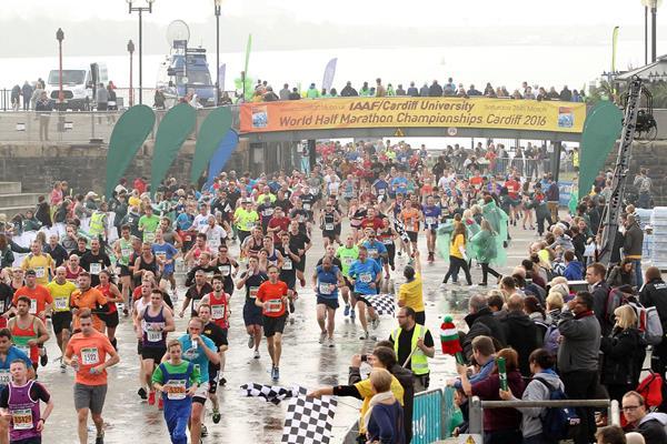 2015 Cardiff Half Marathon (IAAF/Cardiff University World Half Marathon Championships Cardiff 2016 LOC)