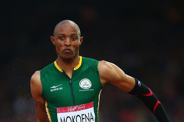 Godfrey Khotso Mokoena at the 2014 Commonwealth Games (Getty Images)