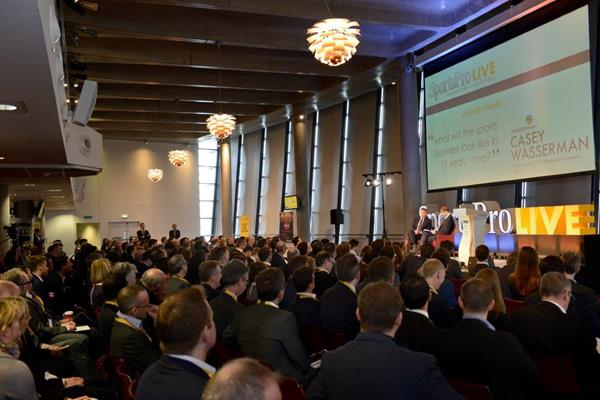 The 2014 SportsPro Live conference in London (Organisers)