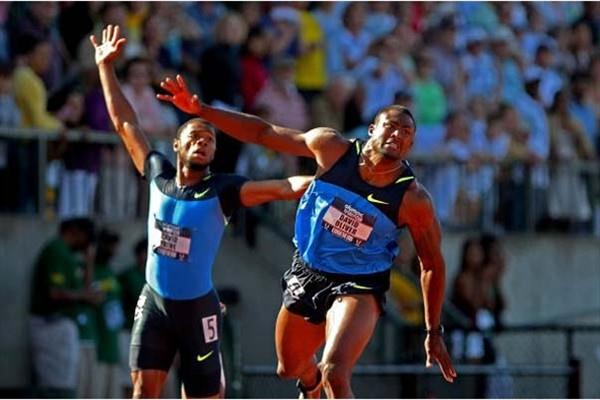 David Oliver brings home sprint hurdles win at US Olympic Trials (Getty Images)