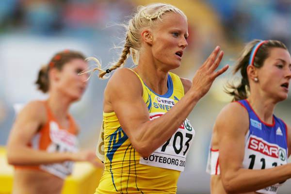 Carolina Kluft leading after day one in Gothenburg (Getty Images)