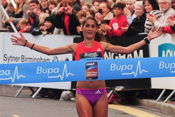 Sara Moreira takes the honours in Birmingham (Organisers)