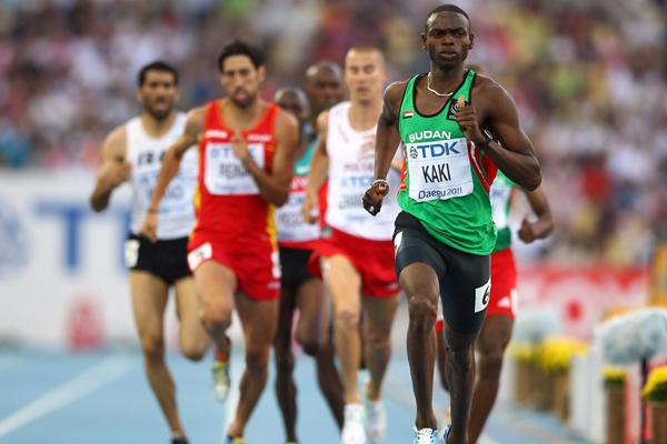 Sudanese 800m runner Kaki Abubaker (Getty images)