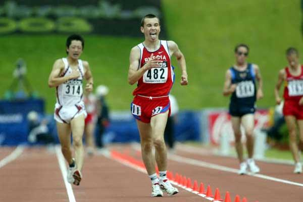Aleksandr Prokhorov, 2003 IAAF World Youth Champion (Getty Images)