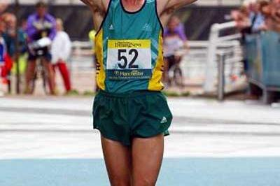 Nathan Deakes (AUS) - double 2002 CommonwealthRace Walking champion (Getty Images)