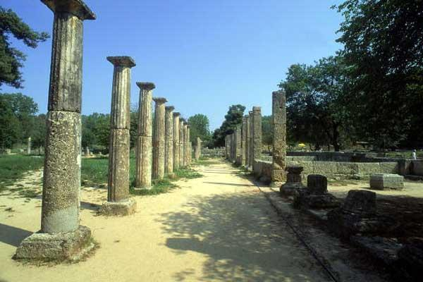 The Palaistria at Olympia - part of the complex surrounding the Stadium (Getty Images)