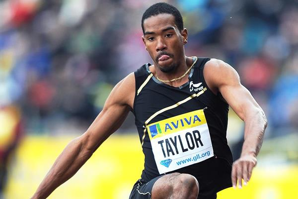 Another Diamond League victory for Christian Taylor in the Triple Jump (Mark Shearman)