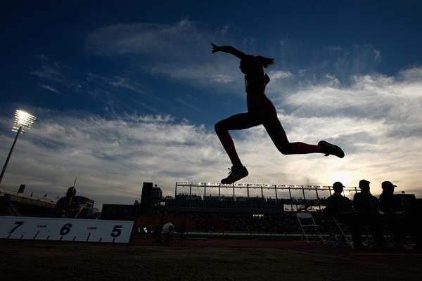 Yulimar Rojas at the 2015 Pan American Games (Getty Images)
