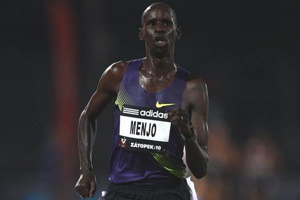 Solo 27:39.80 victory in humid Melbourne for Josphat Menjo (Getty Images)