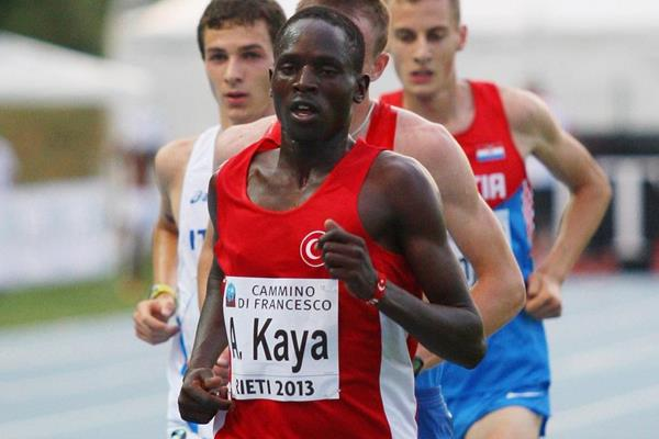Ali Kaya at the 2013 European Athletics Junior Championships (Getty Images)