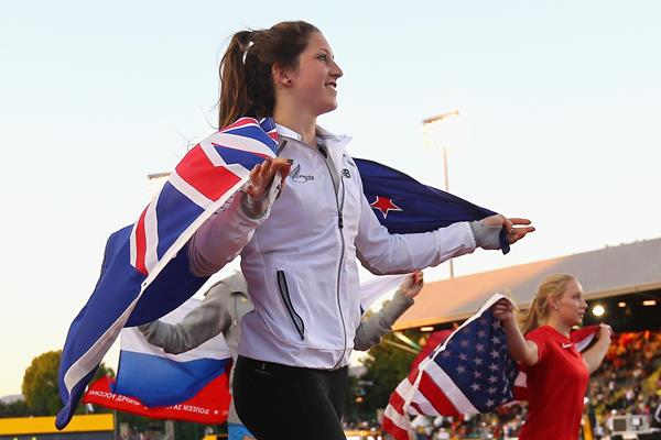 Eliza McCartney at the 2014 IAAF World Junior Championships (Getty Images)