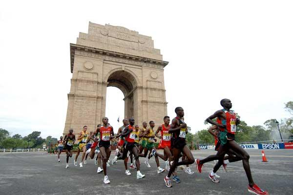 India Gate (Prakash Singh (AFP) for the IAAF)