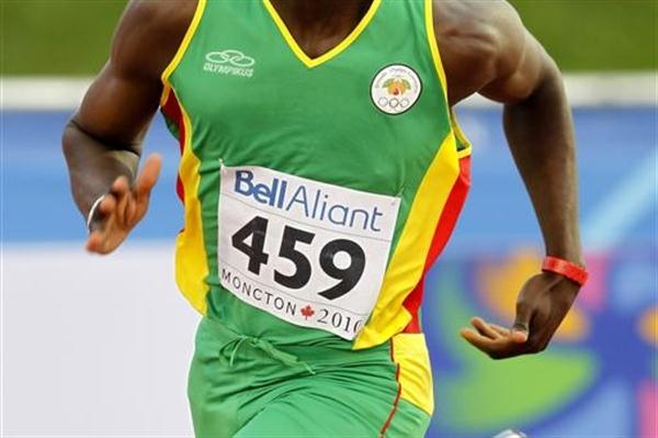 400m favourite Kirani James cruises through to the one-lap semi finals (Getty Images)