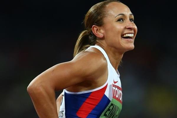 Heptathlon winner Jessica Ennis-Hill at the IAAF World Championships, Beijing 2015 (Getty Images)