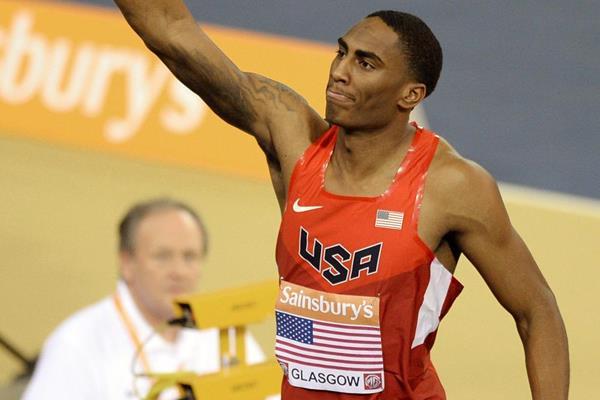 USA's Erik Kynard after winning the high jump (Getty Images)