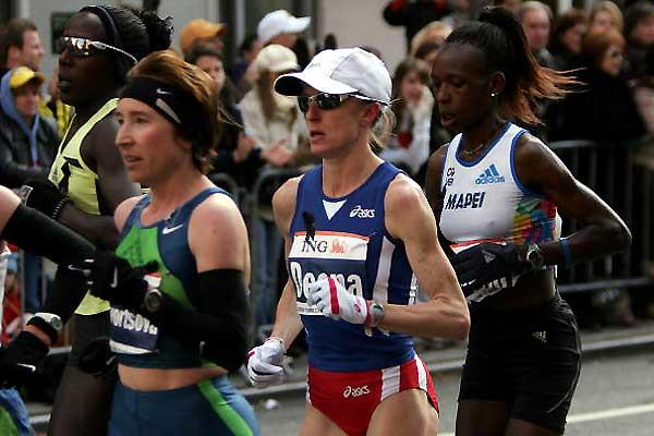 Deena Kastor (USA) in New York (Getty Images)