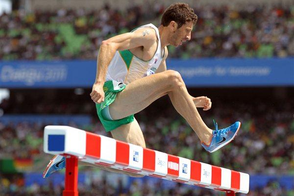 Youcef Abdi competing in the 2011 World Champs in Daegu (Getty Images)