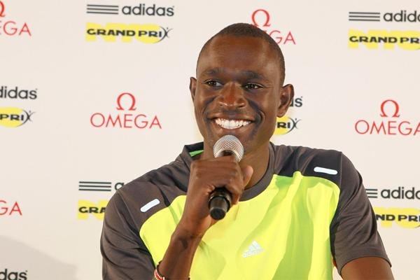 David Rudisha at the New York Diamond League press conference (Victah Sailer)