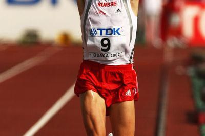 Viktor Röthlin (SUI) taking bronze in Osaka (Getty Images)
