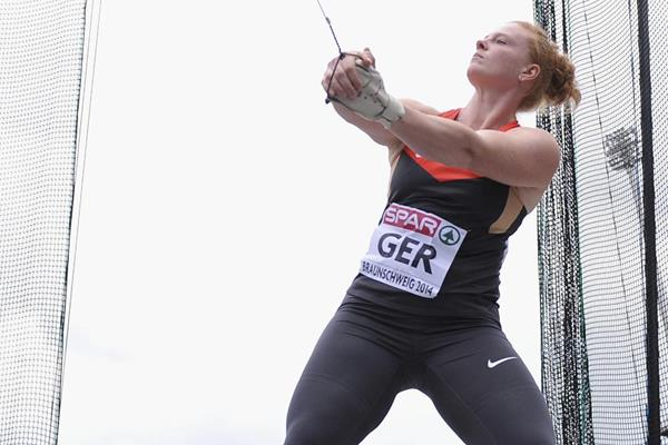 Betty Heidler, winner of the hammer at the European Team Championships (Getty Images)