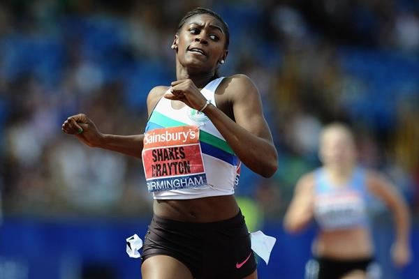 Perri Shakes-Drayton wins the 400m Hurdles at the British Championships (Getty Images)