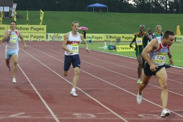 Louis van Zyl runs a personal best 44.86 400m in South Africa (mark Ouma)