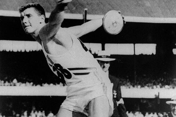IAAF Hall of Fame - Al Oerter (USA) (Getty images)