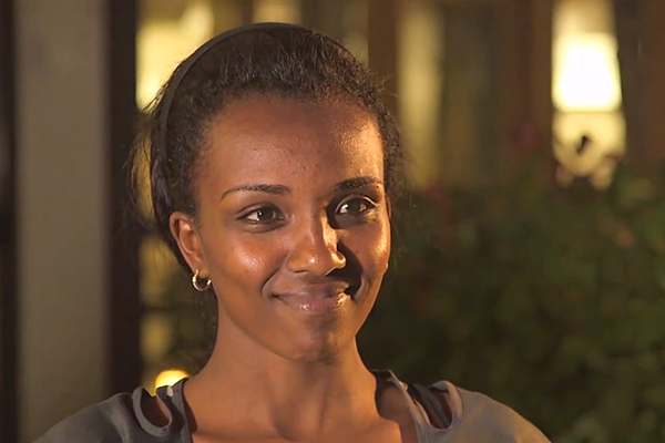 Tirunesh Dibaba on IAAF Inside Athletics (IAAF)