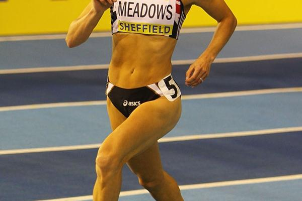 Jenny Meadows collected her sixth indoor 800m national title in Sheffield (Getty Images)