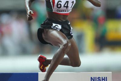 Eunice Jepkorir en route to bronze in Osaka (Getty Images)