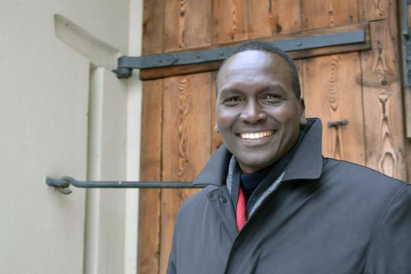 Paul Tergat in Toruń (Organisers)