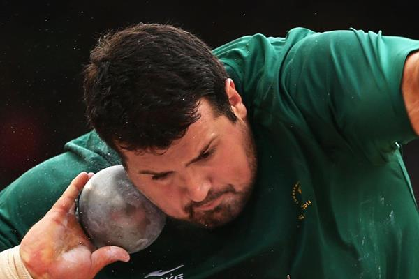 South Africa's Orazio Cremona in the shot (Getty Images)