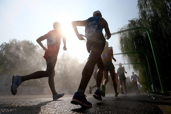 The men's 20km race walk at the IAAF World Championships (Getty Images)