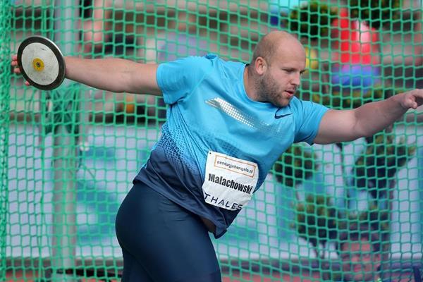 Piotr Malachowski at the 2013 Fanny Blankers-Koen Games in Hengelo (Gladys Chai von der Laage)