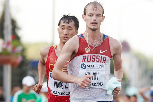 Russian race walker Andrey Krivov (Getty Images)