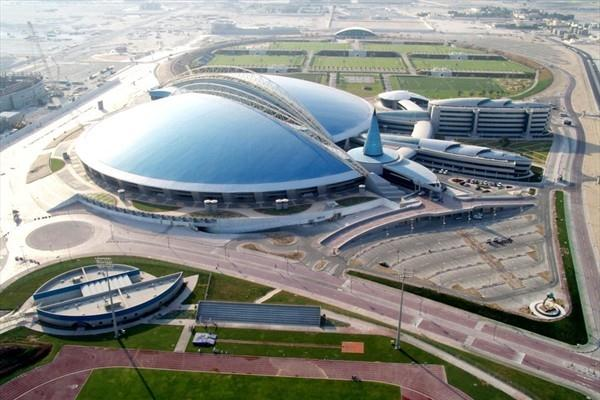 The Aspire Dome in Doha, venue for the 2010 World Indoor Championships (Doha 2010 LOC)